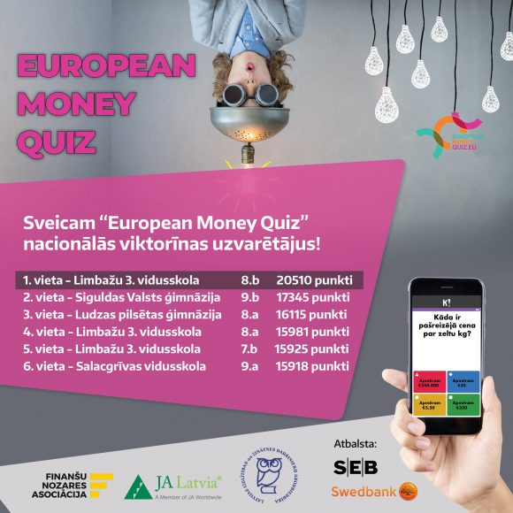European money quiz uzvaretaji - baneris